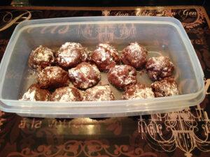 Sugar Free Chocolate Butter Balls