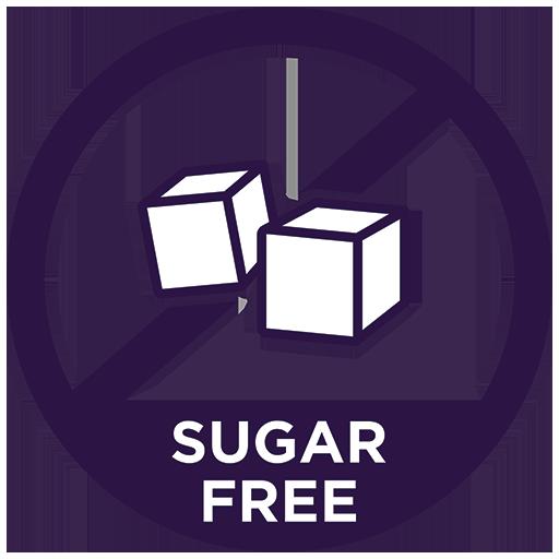 Footloose and Sugar Free - Favicon in Purple